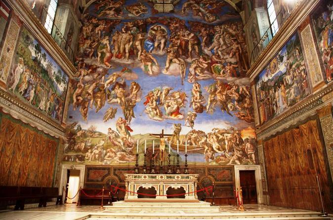 西斯廷教堂 梵蒂冈博物馆优先入场门票
