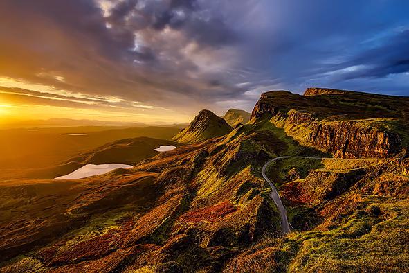 苏格兰高地天空城